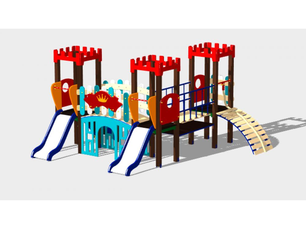Детский игровой комплекс «Королевство» ДИК 1503 H=900