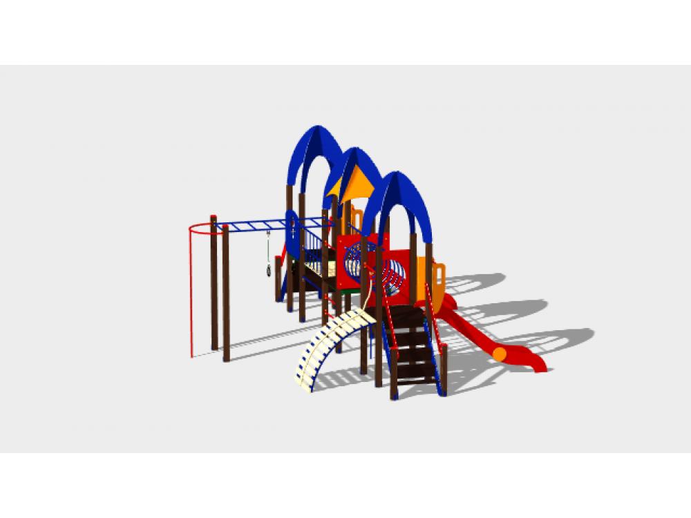 Детский игровой комплекс «Космопорт» ДИК 1405 H=1200