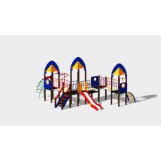Детский игровой комплекс «Космопорт» ДИК 1407 H=1200