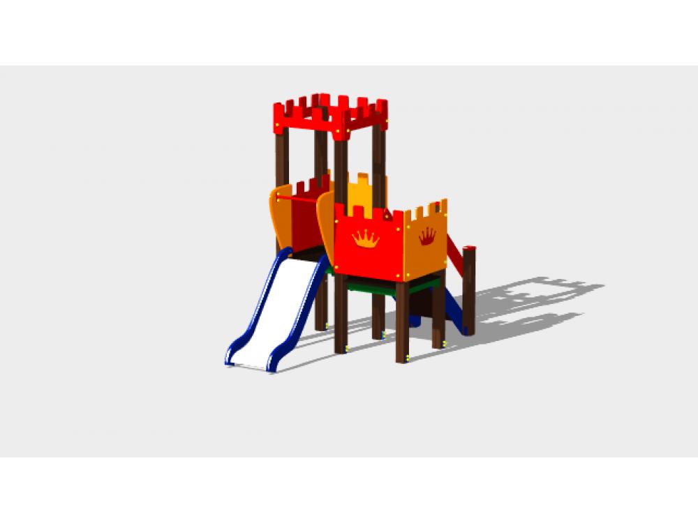 Детский игровой комплекс «Королевство» ДИК 1501 H=900