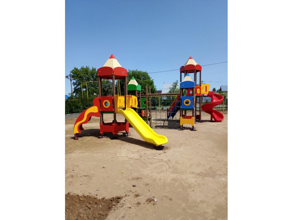 Детский игровой комплекс «Карандаши» ДИК 2601 Н=1200