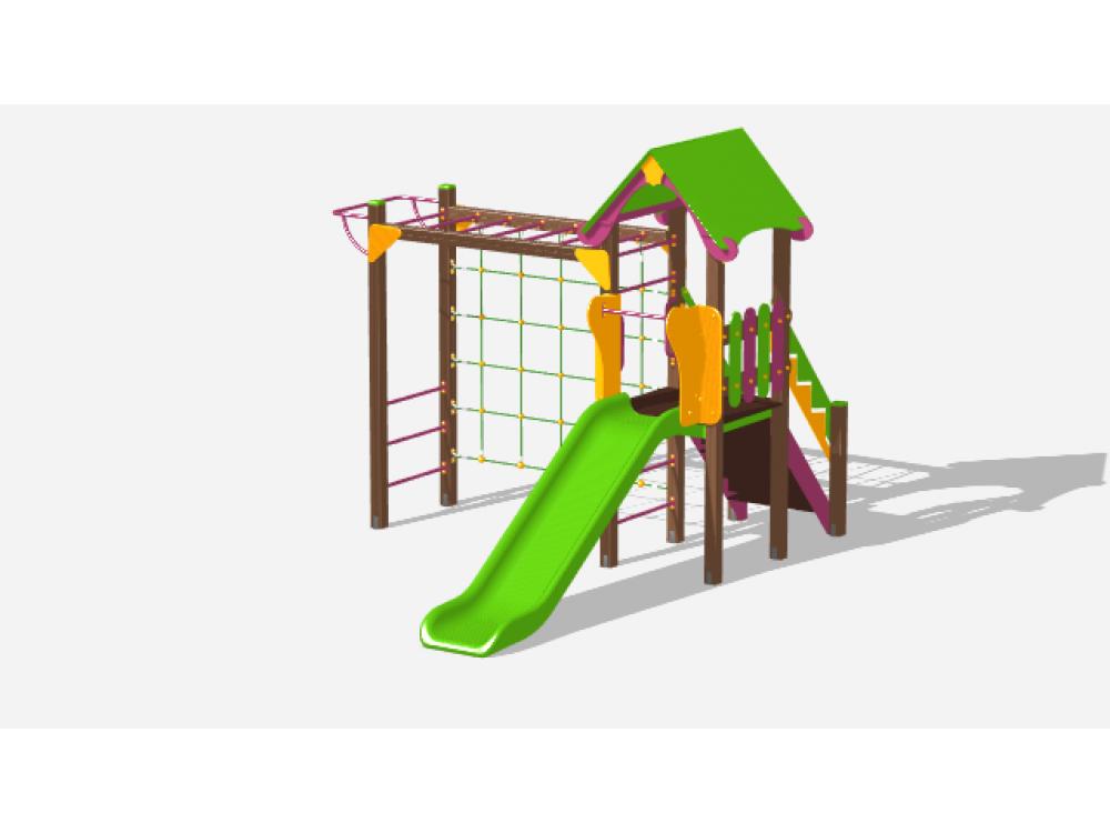Детский игровой комплекс «Лукоморье» ДИК 2504