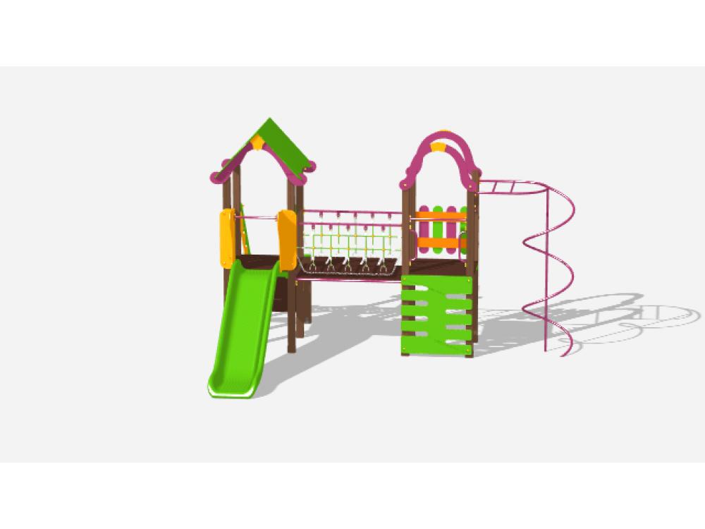 Детский игровой комплекс «Лукоморье» ДИК 2510