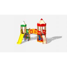 Детский игровой комплекс «Карандаши» ДИК 2602 Н=1200