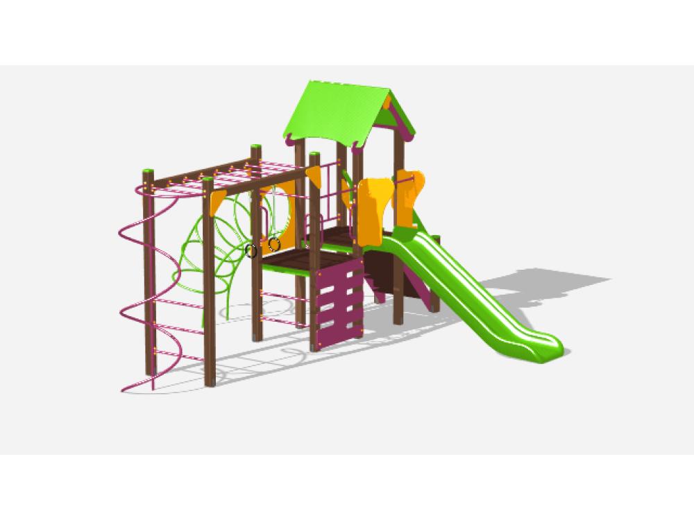 Детский игровой комплекс «Лукоморье» ДИК 2505