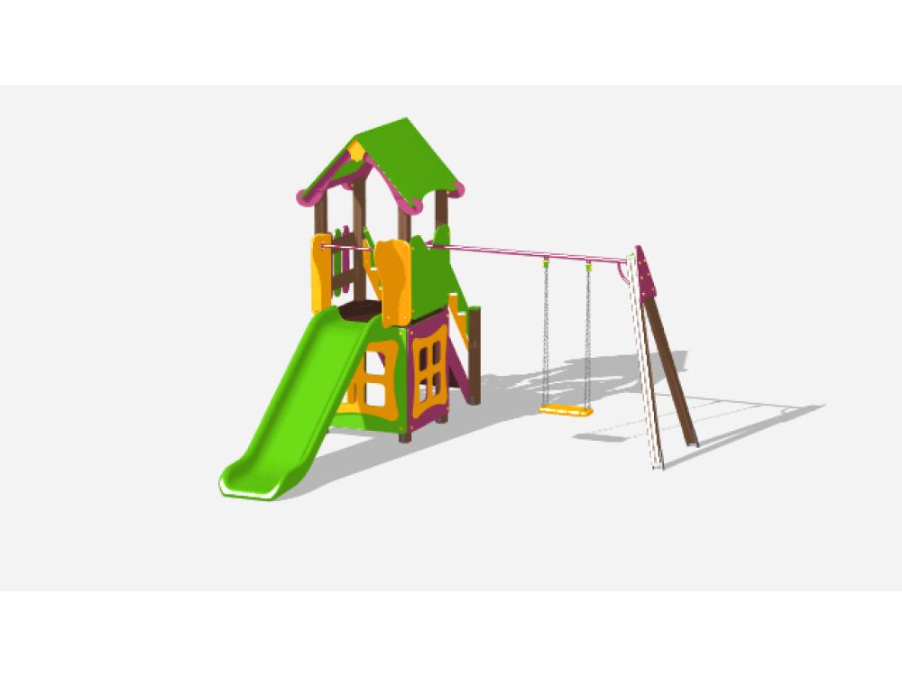 Детский игровой комплекс «Лукоморье» ДИК 2502