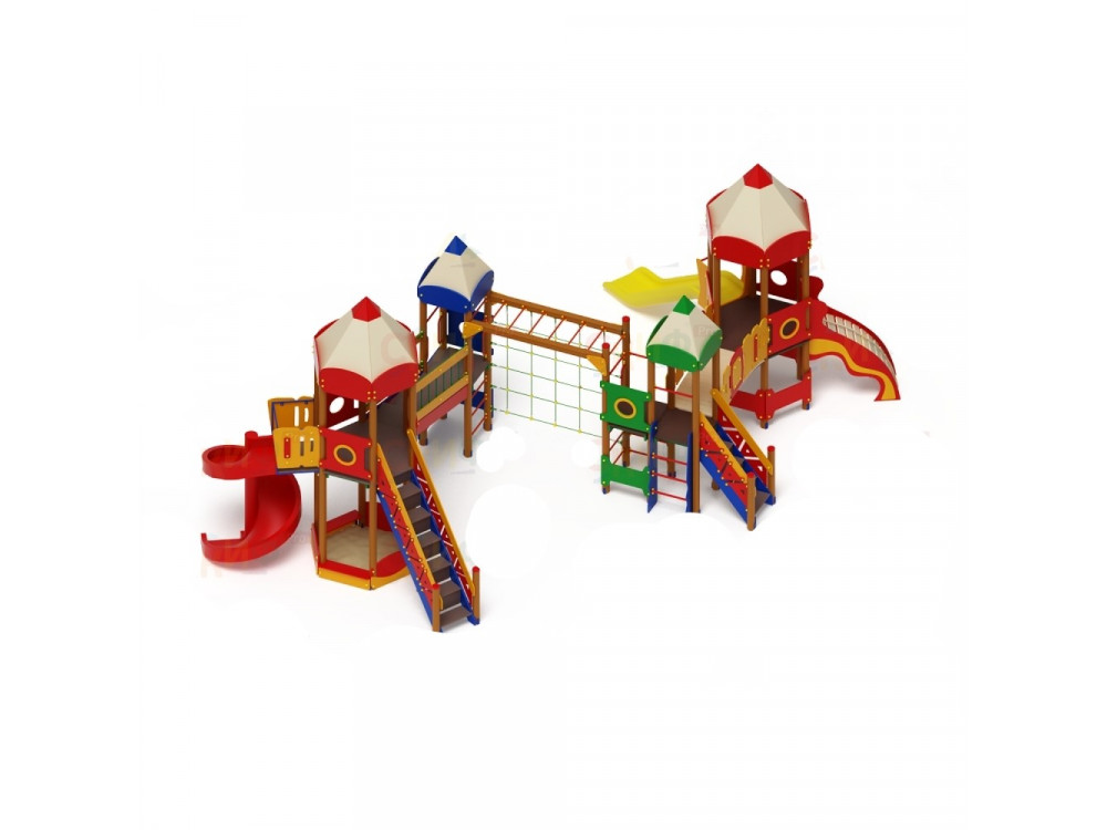 Детский игровой комплекс «Карандаши» ДИК 2606 H=1200/2000
