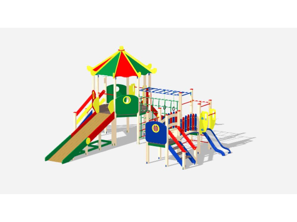 Детский Игровой комплекс Карнавал ДИК 2203
