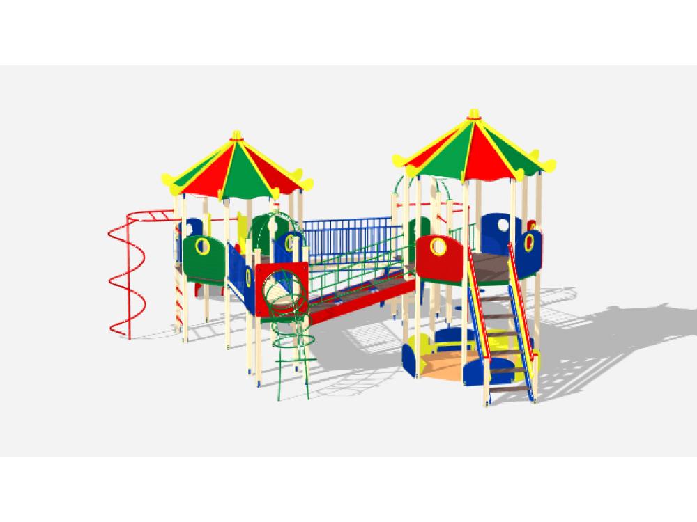 Детский Игровой комплекс «Карнавал ДИК 2206