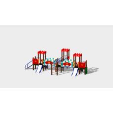 Детский игровой комплекс «Королевство» ДИК 1505 H=750