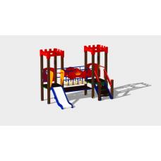Детский игровой комплекс «Королевство» ДИК 1507 H=900