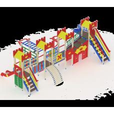 Детский игровой комплекс «Замок» ДИК 1810 H=1500 H=2000