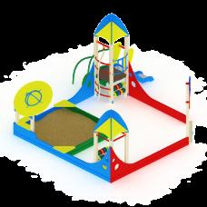 Песочный дворик Космопорт с горкой ИО 539