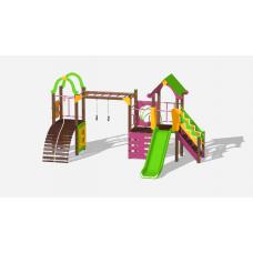 Детский игровой комплекс «Лукоморье» ДИК 2509