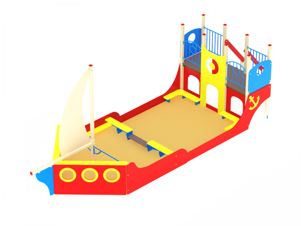 Песочный дворик Яхта ИО 547