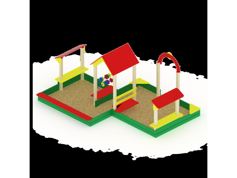 Песочный дворик большой ИО 537