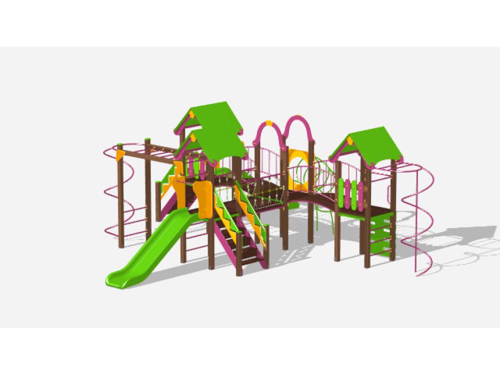Детский игровой комплекс «Лукоморье» ДИК 2508