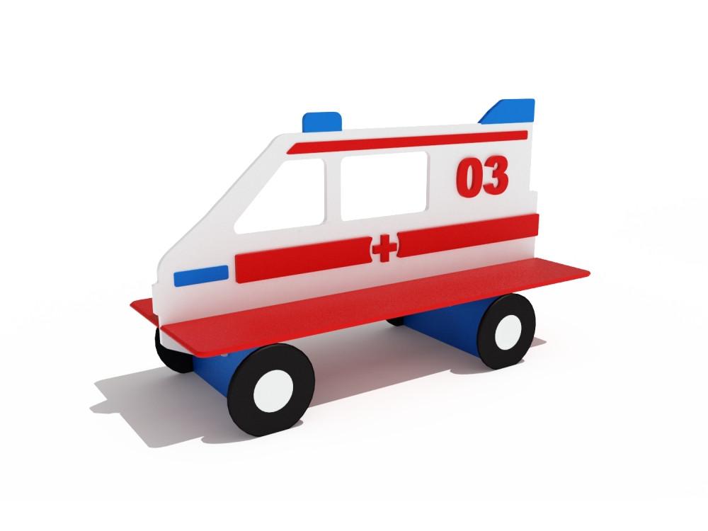 Скамейка детская Скорая помощь МФ 414