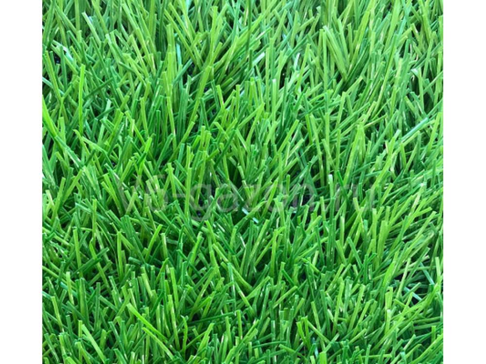 Искусственная трава Биколор ЛАЙТ 40 мм