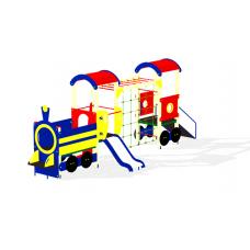 Детский игровой комплекс «Паровозик» ДИК 1007 H=750