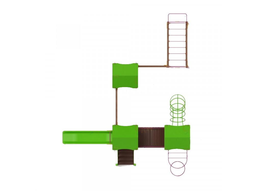 Детский игровой комплекс «Лукоморье» ДИК 2507