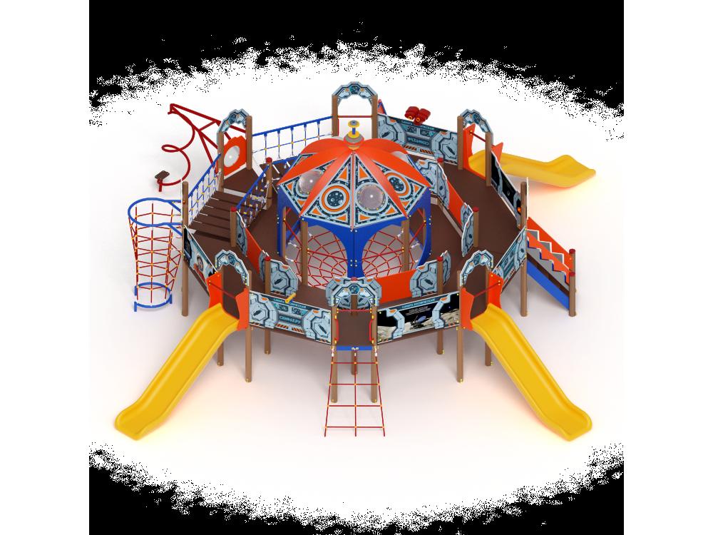 Детский игровой комплекс «Россия Космическая» ДИК 2901 H=1200