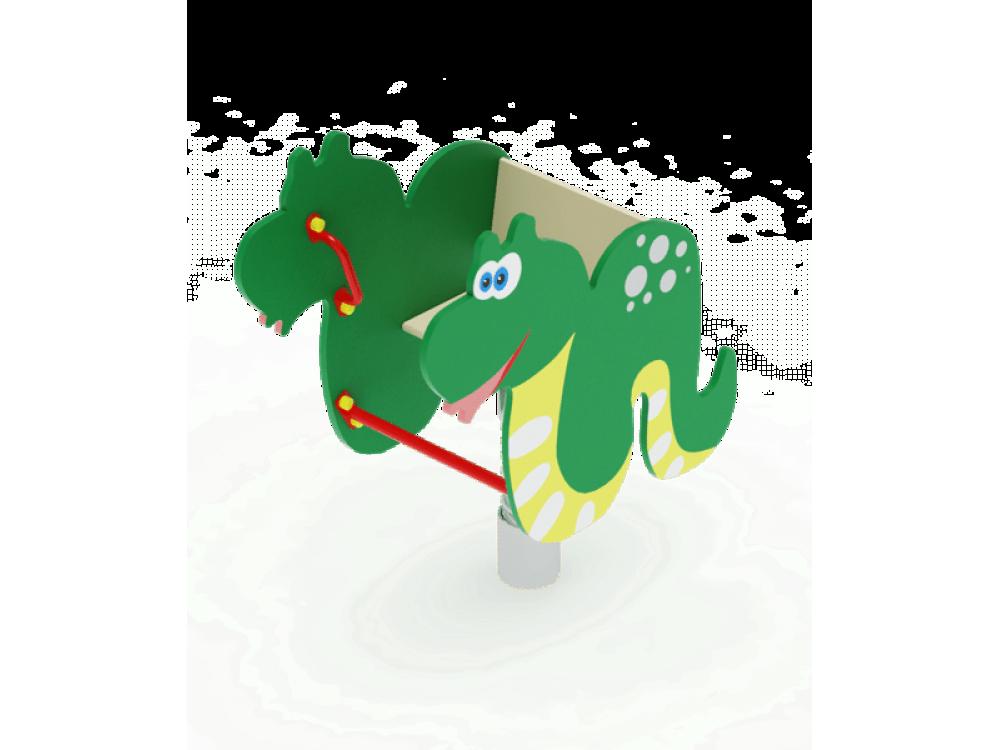 Качалка на пружине Змейка ИО 213