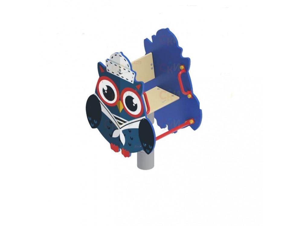 Качалка на пружине Совенок-моряк ИО 218