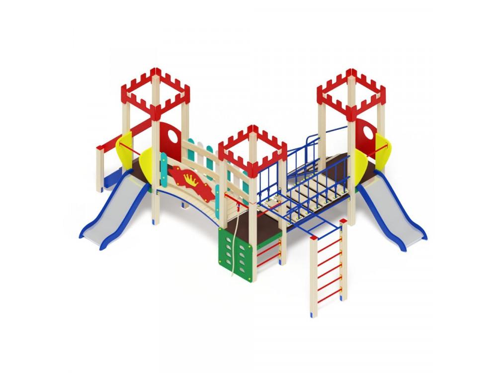 Детский игровой комплекс «Королевство» ДИК 1508 H=750