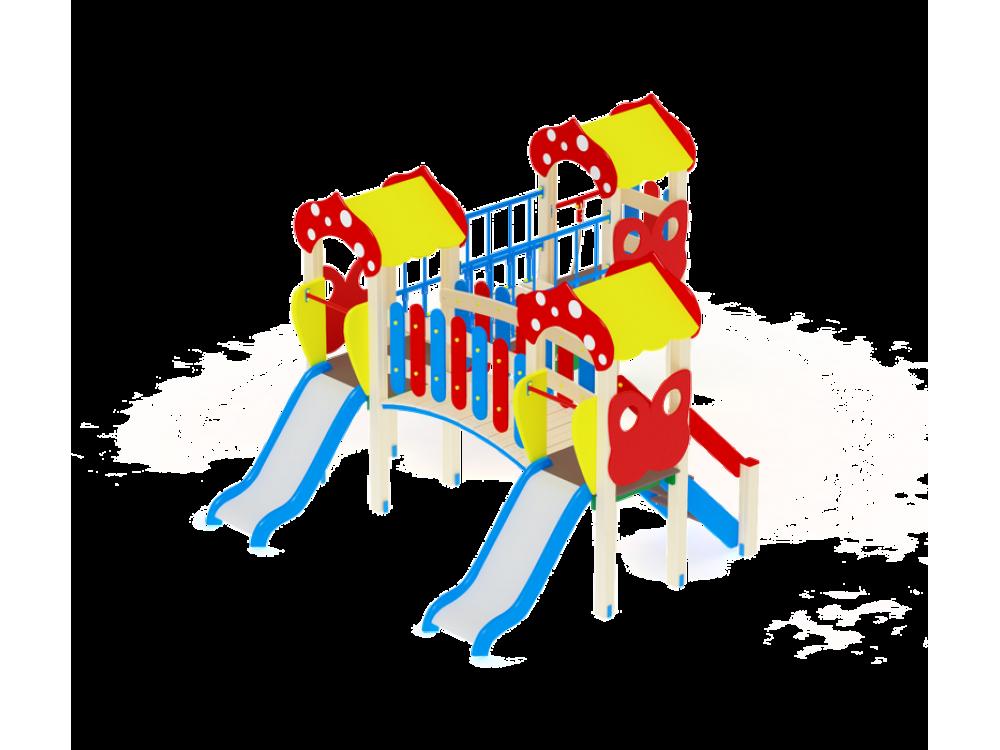 Детский игровой комплекс «Полянка» ДИК 1604 H=750