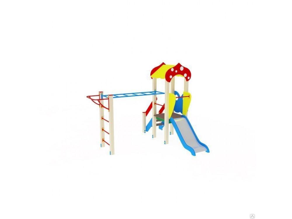 Детский игровой комплекс «Полянка» ДИК 1605 H=750