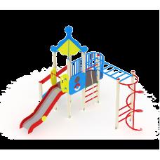 Детский игровой комплекс «Морской» ДИК 1701 H=1500