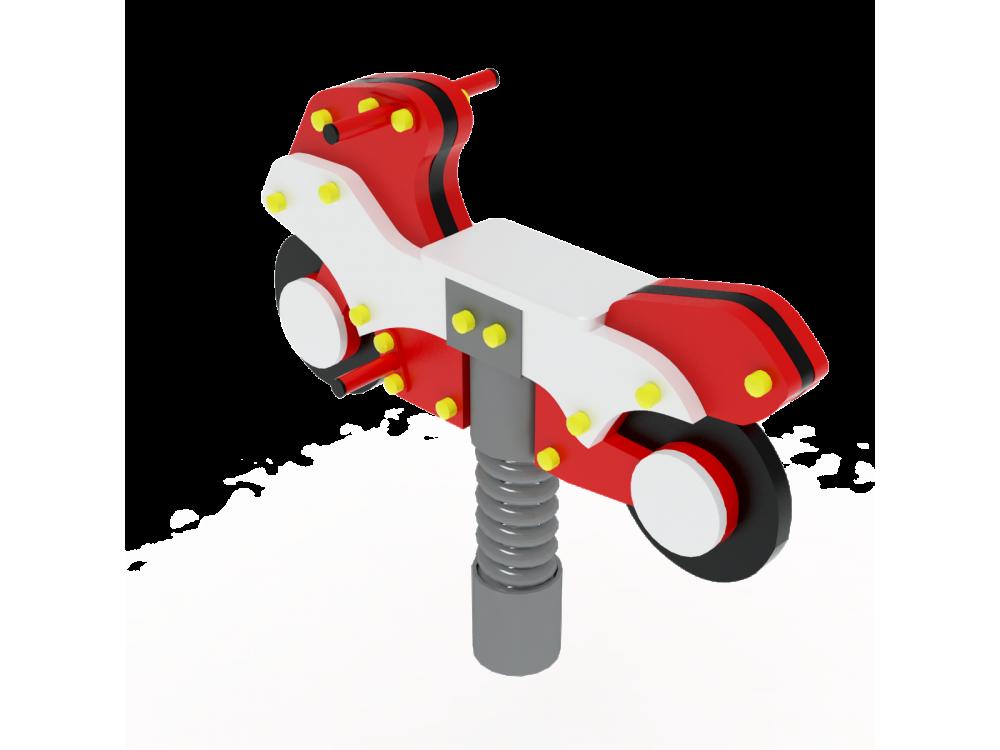 Качалка на пружине Мотоцикл ИО 242