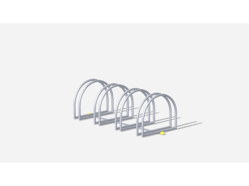 Стойка велосипедная мини МФ 617