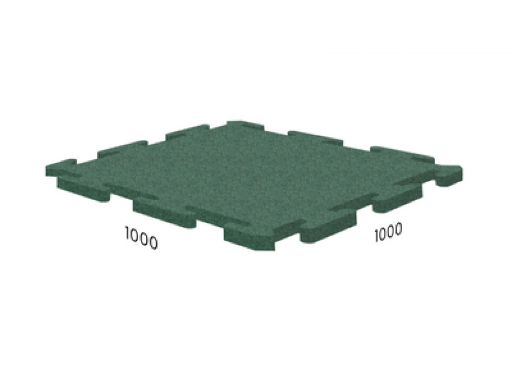 Rubblex Roof Puzzle 1000x1000x25 мм