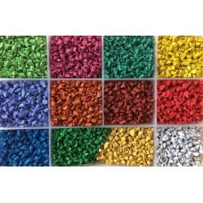 Резиновая цветная крошка SBR