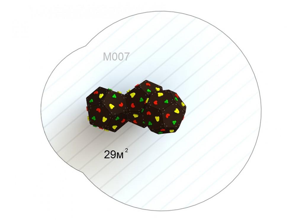 Куб тройной M 007