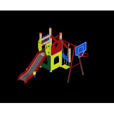 """Детский игровой комплекс """"Счастливое детство"""" ДИК 01"""