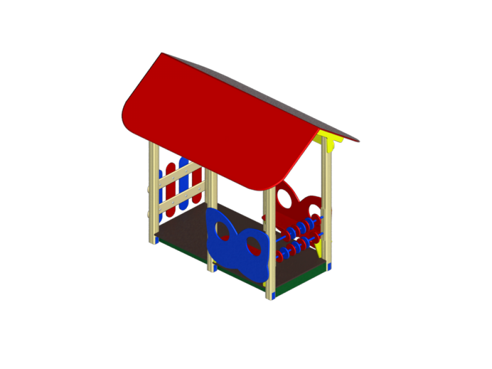 Домик средний МФ 124