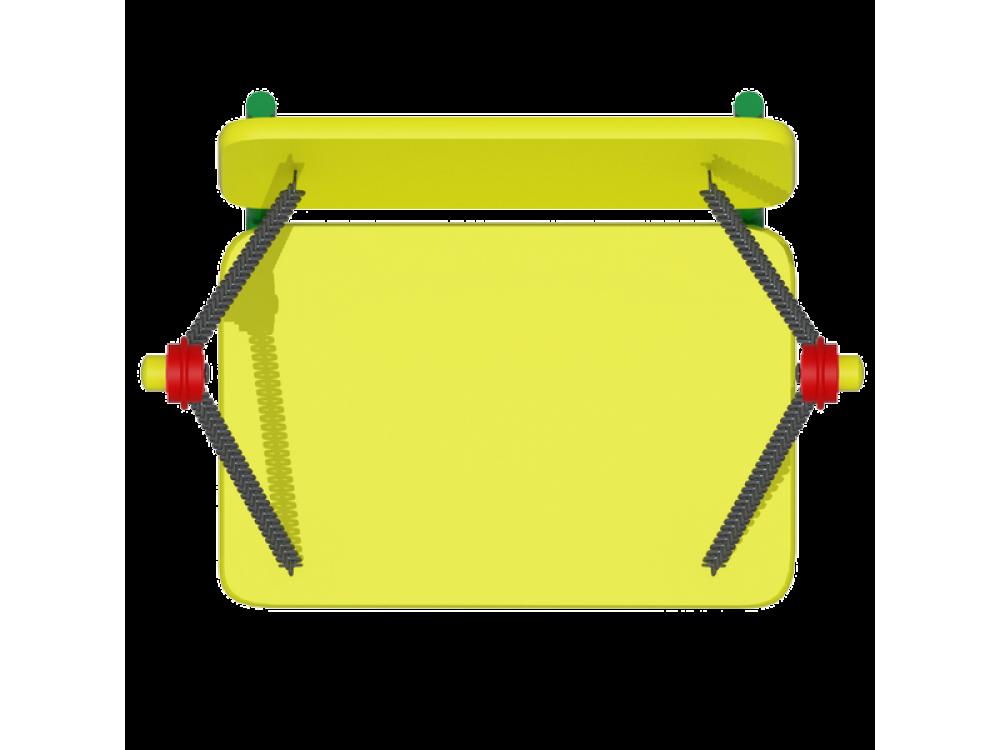 Сиденье качели со спинкой (цепь) ИО 141