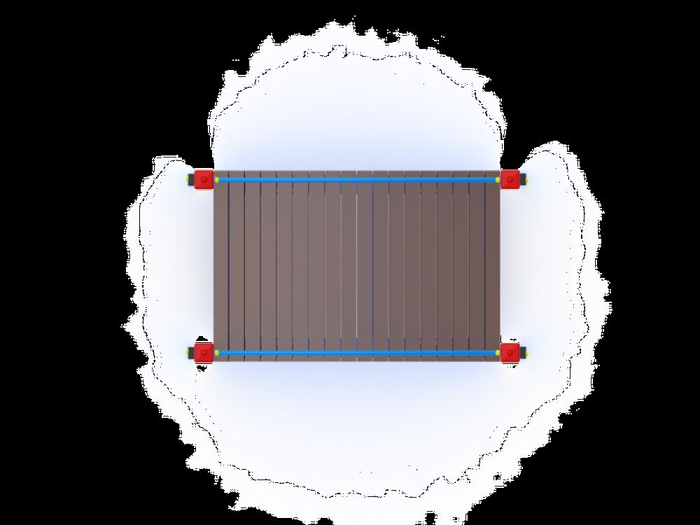 Мостик гнутый М1 ИО 803
