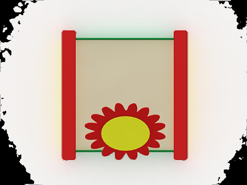 """Песочница """"Забава"""" с навесом """"цветок"""" ИО 508"""