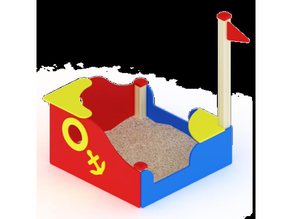 "Песочница ""Кораблик"" мини ИО 517"
